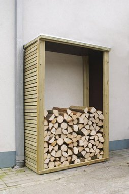 Valente houtberging