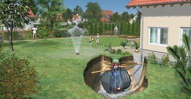 ARIZONA pakket voor regenwaterrecuperatie