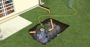 KANSAS pakket voor regenwaterrecuperatie