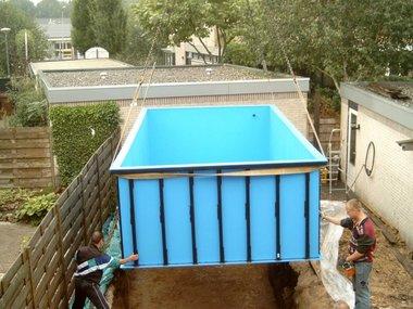 HDPE zwembad- en -vijverbakken op maat